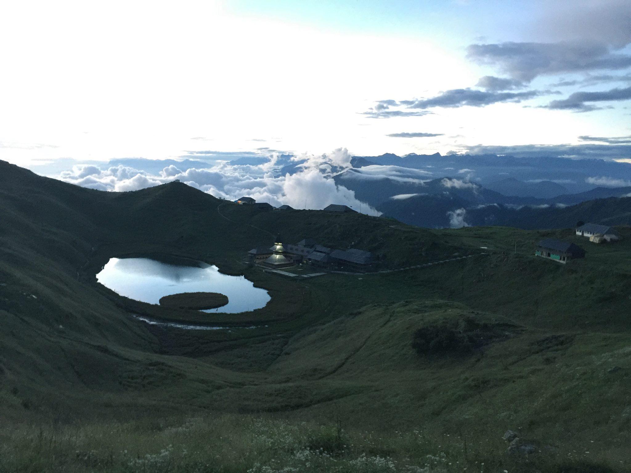 Prashar Rishi Lake