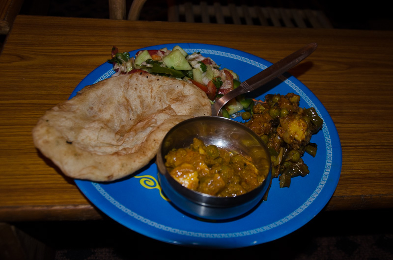 Vegetarian truly Indian food